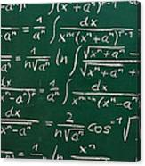 Mathematics Canvas Print