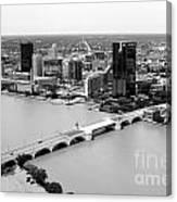 Maumee River Toledo Ohio Canvas Print