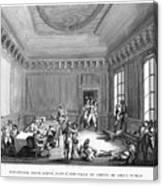 Maximilien Robespierre (1758-1794) Canvas Print