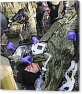 Medics Of The British Special Forces Canvas Print