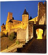 Medieval Carcassonne Canvas Print