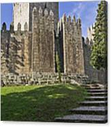 Medieval Castle Keep Canvas Print