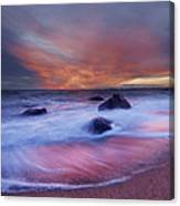 Meigs Point Sunset Canvas Print