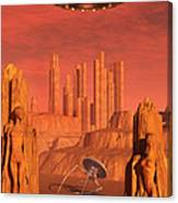 Members Of The Planets Advanced Canvas Print