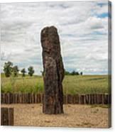 menhir Stone Shepherd Canvas Print