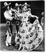 Mexican Folk Dance Canvas Print