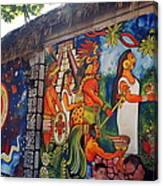 Mexican Wall Art Canvas Print
