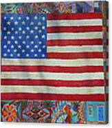 Mi Flag Canvas Print