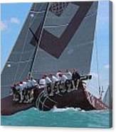 Miami Upwind Canvas Print
