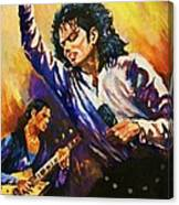 Michael Jackson In Concert Canvas Print