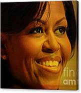 Michelle Obama Canvas Print