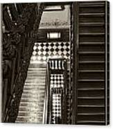 Michigan Capitol Stairwell Canvas Print
