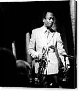 Miles Davis At The Penthouse Canvas Print