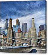Millennium Skyline  Canvas Print