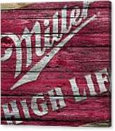 Miller High Life Canvas Print
