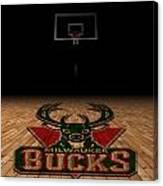 Milwaukee Bucks Canvas Print