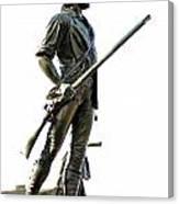 Minute Man Statue Concord Ma Canvas Print