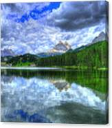 Mirror In The Sky Canvas Print