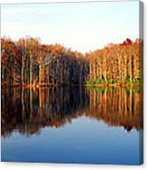 Mirror Lake Panoramic Canvas Print