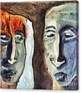 Mirroring - Retrospect Canvas Print
