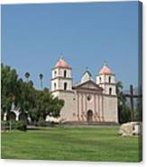 Mission Santa Barbara Canvas Print