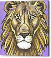 Mod Male Lion Canvas Print