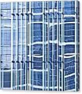Modern Architecture Detail Canvas Print