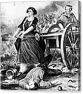 Molly Pitcher (c1754-1832) Canvas Print