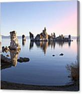 Mono Lake In First Light Canvas Print