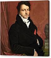Monsieur De Norvins Canvas Print