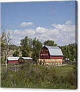 Montana Farm Canvas Print