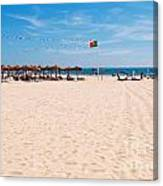 Montegordo Beach Canvas Print