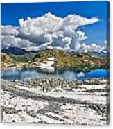 Monticello Lake - Tonale Pass Canvas Print