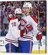 Montreal Canadiens V Tampa Bay Canvas Print