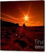 Monument Valley -utah  Canvas Print