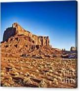 Monument Valley -utah V5 Canvas Print