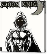 Moon Knight The White Knight  Canvas Print
