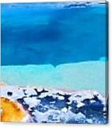 Moon On Earth 4 - Yellowstone Canvas Print