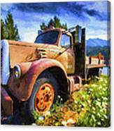 Moose Pass Limo Canvas Print