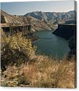 745p More's Creek Boise Id Canvas Print