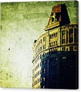 Morningside Heights Green Canvas Print