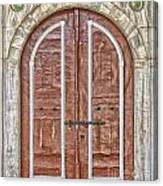 Mosque Doors 09 Canvas Print