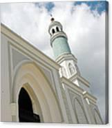 mosque in Tarakan Indonesia Canvas Print
