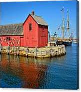 Motif Number One Rockport Lobster Shack Maritime Canvas Print