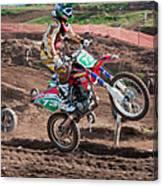 Motocross Rider Canvas Print