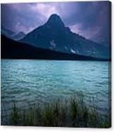 Mount Chephren Canvas Print