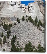 Mount Rushmore Canvas Print