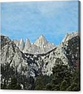 Mount Whitney Canvas Print
