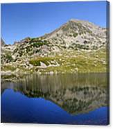 Mountain And Lake Canvas Print