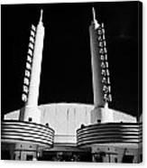 Movie Theatre In Celebration Florida Usa Canvas Print